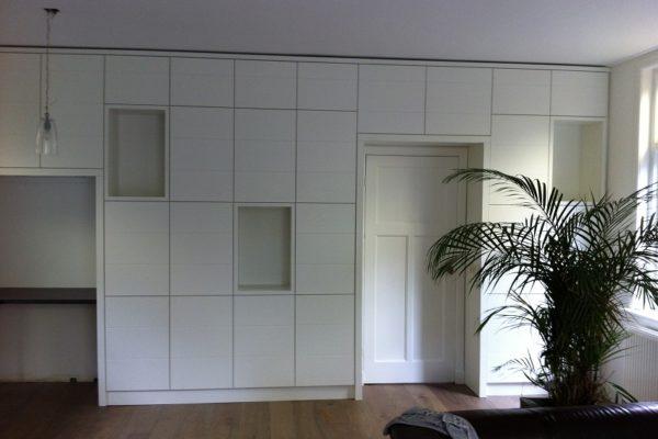 Wandkast Woonkamer: Design wandmeubel op maat puur interiors ...