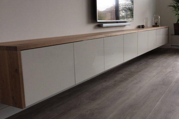 Projecten p j van der vegt for Modern tv meubel design