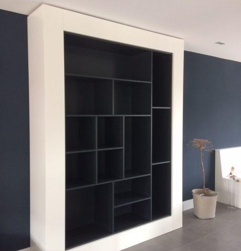 Open Wandkast Op Maat Pj Van Der Vegt
